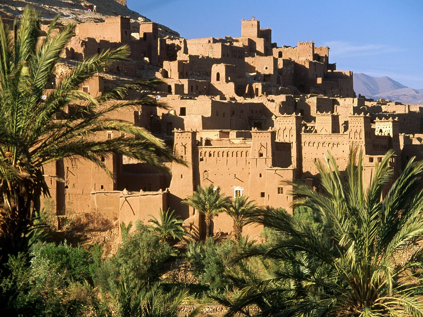 third day in ait ben haddou ,Ouarzazate and Gorge Dades
